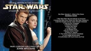 Star Wars Episode II Attack of the Clones Soundtrack Tracklist