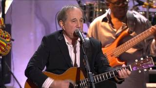 "Paul Simon and Stevie Wonder - ""Me And Julio Down By The Schoolyard"" (2/6) HD)"