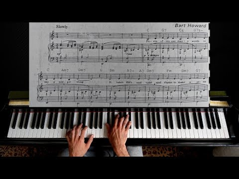 Comment jouer Fly Me to the Moon au piano