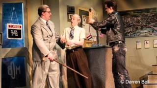The Comedy About a Bank Robbery - Opening night