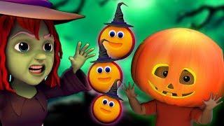 有一个可怕的南瓜  孩子们的万圣节歌曲 儿童歌曲   万圣节音乐   There is a Scary Pumpkin   Kids Tv China
