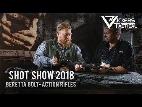 Shot Show 2018 - Beretta Bolt-Action Rifles