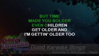 Landslide  - Fleetwood Mac (Lyrics  Karaoke) [ goodkaraokesongs.com ]
