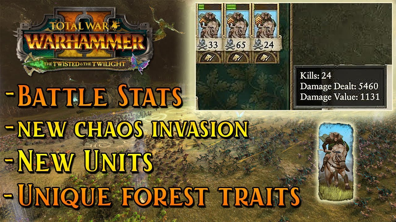 Turin - The Twisted & The Twilight UPDATES   New Chaos Invasion, Post Battle Stats & UNIQUE FOREST TRAITS