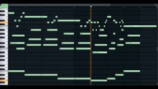 Taladro - #Siyah Gelinlik   FL Studio Piano Tutorial