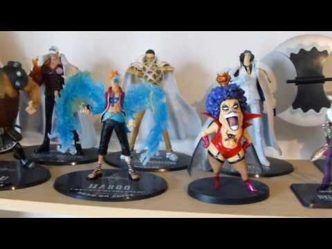 One Piece figures collection (Collection figurines One Piece)