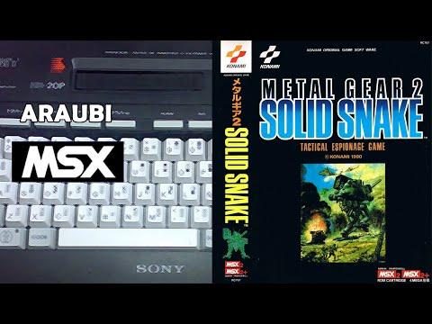 Metal Gear 2 (Konami, 1990) MSX2 [800] Walkthrough Comentado