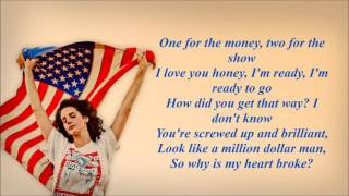Lana Del Rey - Million Dollar Man (Karaoke With Lyrics)