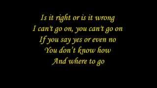 Elaiza - Is It Right (lyrics)