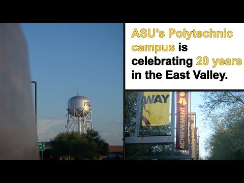 Celebrating 20 years of hands-on learning at ASU's Polytechnic campus