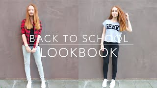 BACK TO SCHOOL: LOOKBOOK