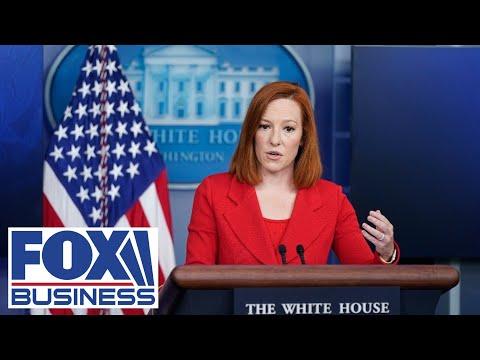White House press secretary Jen Psaki holds briefing | 7/26/21