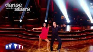 """DALS S02 - Un tango avec Veronique Jannot et Philippe Candeloro sur """"Happy Days"""""""