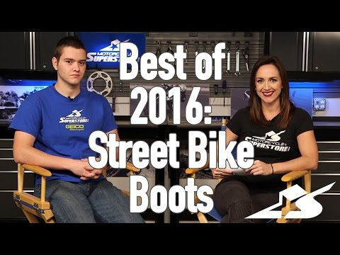 Best of 2016: Street Bike Boots