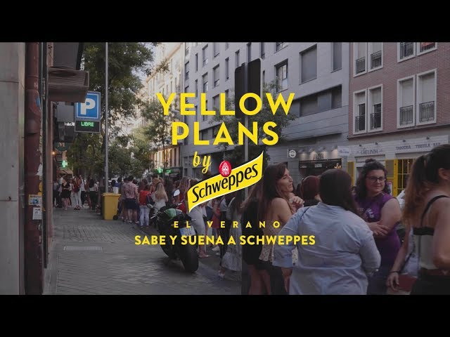 Arnau Griso en Yellow PLans by Schweppes