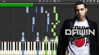 Dawin - Dessert ft. Silento (Piano Synthesia+Tutorial+Sheet)