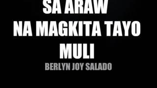 Sa araw na magkita tayong muli -Berlyn Joy Salado