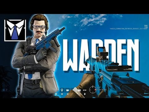 WARDEN GAMEPLAY: The Glaz Counter (Rainbow Six Siege)