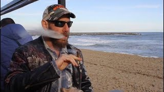 Searching for Cannabis friendly apartments on Barcelona Beach on Hash Bar TV width=