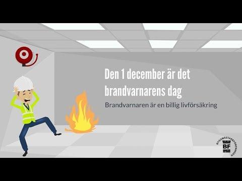 Brandvarnarens dag - 1 december