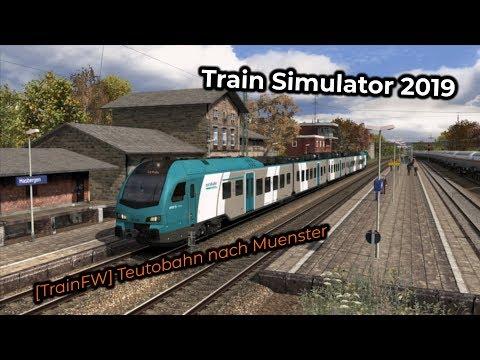 [TrainFW] Teutobahn nach Muenster -- Livestream 10/03/2019