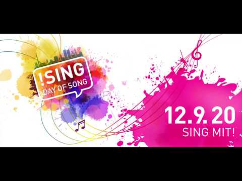 !SING - Day of Song am 12.9.2020