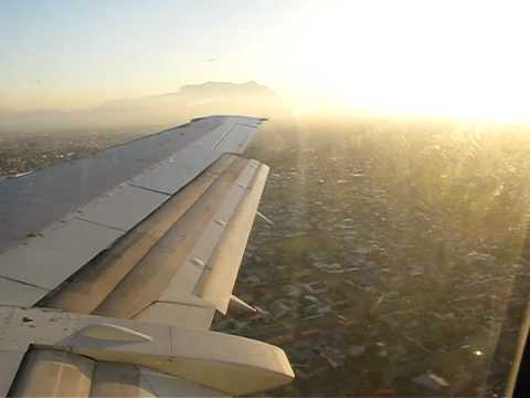 Landing in Cape Town, South Africa