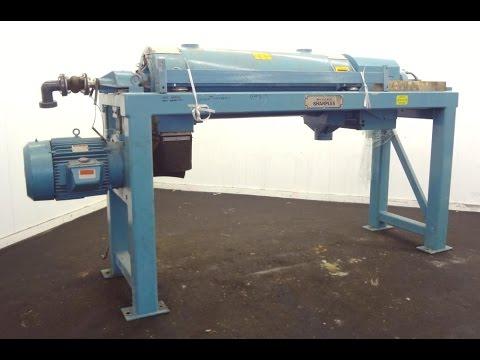Used- Sharples PM-38000 Super-D-Canter Centrifuge - Stock# 44733001