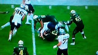 UCFs McKenzie Milton Suffers BROKEN LEG Against USF!