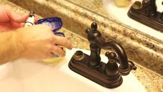 DIY Squeaky Faucet Handle Fix