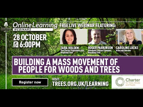 Webinar: Building a Mass Movement of People for Trees