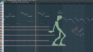 What Green Alien Sounds Like - MIDI Art