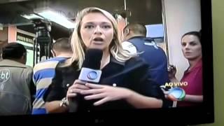 reporter desbocada que  falou um baita palavrão quando  o Marcelo Resende cortou pra ela