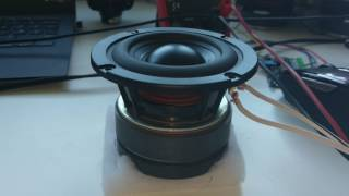 Beefy Eastech 3 Inch Woofer Test