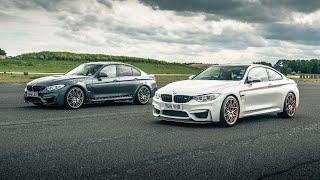BMW M3 Comp Pack vs BMW M4 GTS | Drag Races | Top Gear