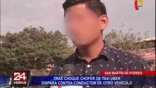 SMP: denuncian a conductor que intentó disparar a un joven tras choque