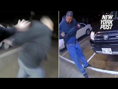 Suspect impuscat de politisti cu propria arma