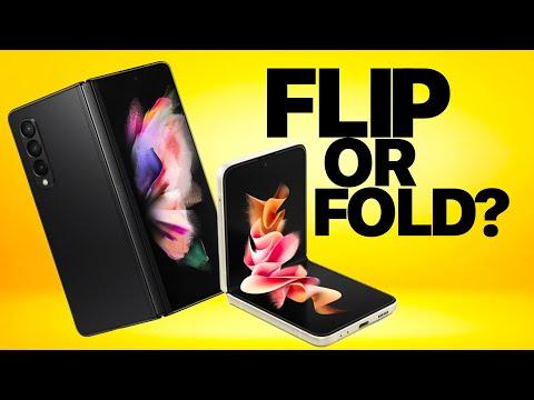 Samsung Galaxy Z Flip 3 vs Fold 3: Don't Make a Mistake!