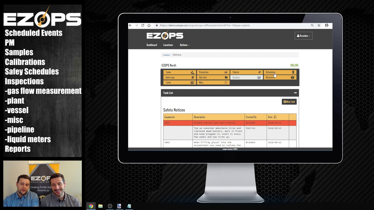 Preventive maintenance: How to schedule events with EZ Ops Video
