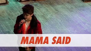 Hayden Summerall - Mama Said (Live in Dallas)