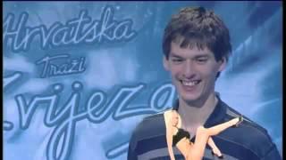 Toni Kulačin  Hrvatska traži zvijezdu - chocolate puma sexy girl