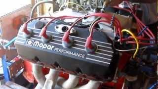 528 HEMI Start Up On Engine Test Stand