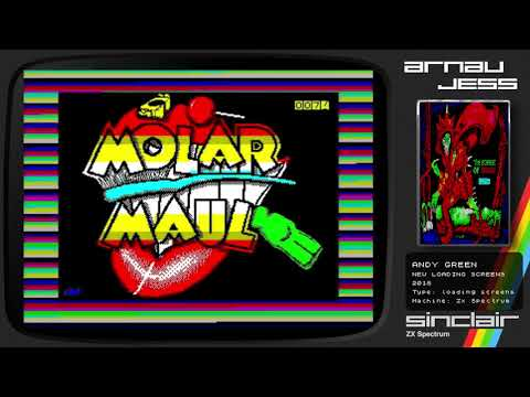 ANDY GREEN New Loading Screens Zx Spectrum