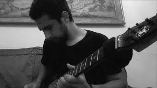 The lonely shepherd electric guitar cover -موسيقى الراعى الوحيد على الجيتار