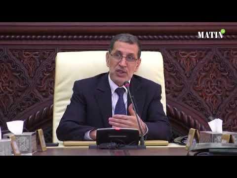 Video : Allocution du Chef du gouvernement à l'ouverture des travaux du conseil de gouvernement