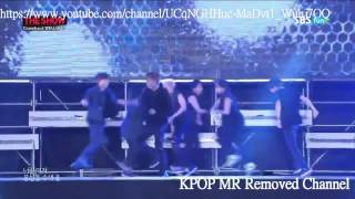 [MR Removed] 140826 BTS (방탄소년단) - Danger (The Show Comeback Stage)