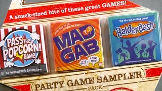 Party Game Sampler from Mattel