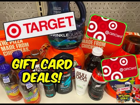 TARGET COUPONING (2/21 - 2/27)   Gift Card Deals, Pizza, Tide & more!