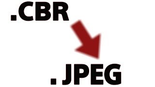 How to Covert CBR files to JPEG - No Download Needed