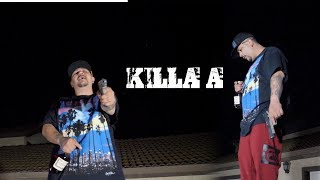 "KILLA A -  ""KILL EM ALL""((OFFICIAL VIDEO))Prod.By @EmadeThisBeat"